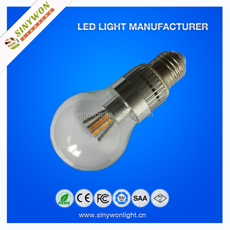 High Standard EMC Driver Fluorescent Lamp shaped 360 degree led bulb