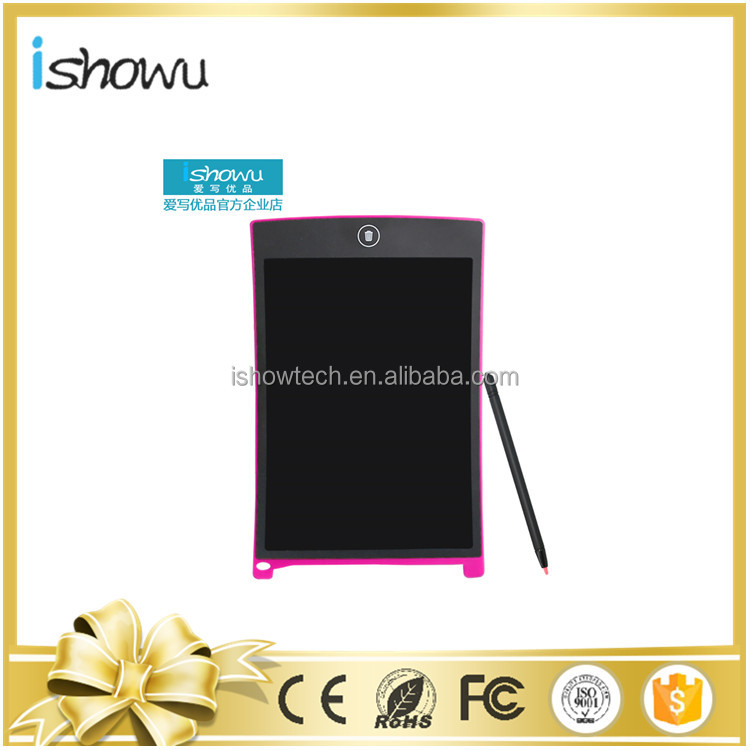 8.5 inch LCD Memo Pad Blue Drawing Board in School, House, Offic eGiftfor Kids, Designer, Teacher, Student with Magnetic Back