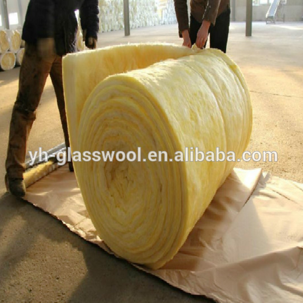 Weight fiberglass batt insulation/high density glass wool blanket