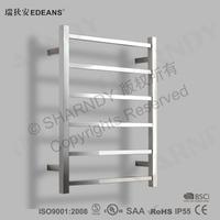 Heated Bathroom Rack Stainless Steel Towel Heater Holder