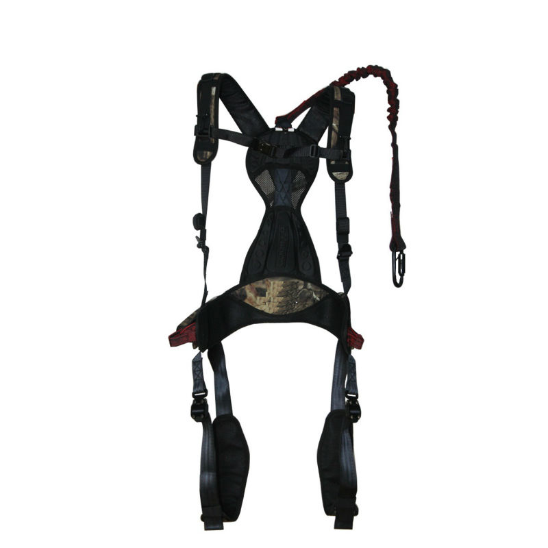 full body safety belt harness with positioning lanyard