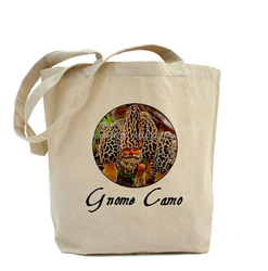 Heavyweight canvas mushroom hunting tote bag for craft packing