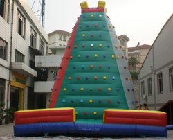 Inflatable climbing , inflatable sport games , inflatable rocking climbing ,fast delivery ,quality assurance