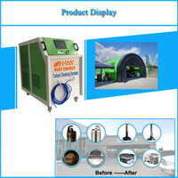 Ce Oxy-hydrogen Mobile Car Wash HHO Engine Carbon Cleaning Machine