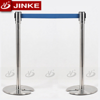 High Quality Stainless Steel Crowd Control Stanchion Wind Barrier