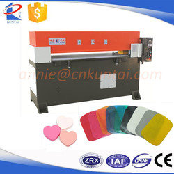 High Performance Precision Four Column Foam/PU Leather/Rubber Die Cutting Machine