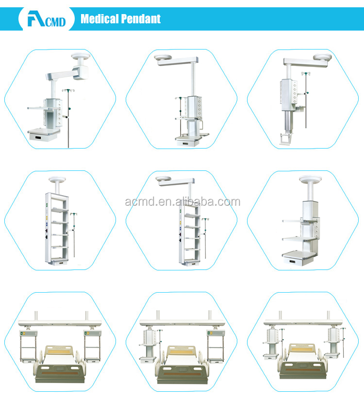 Bridge Type ICU Ceiling Pendant System High Quality