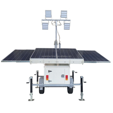 industrial emergency used Solar Light Tower, diesel generator light tower, mobile light tower