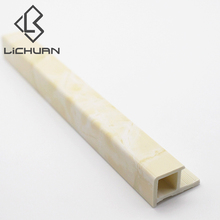 China Manufacturer Wall Edge Corners Plastic Ceramic Tile Trim