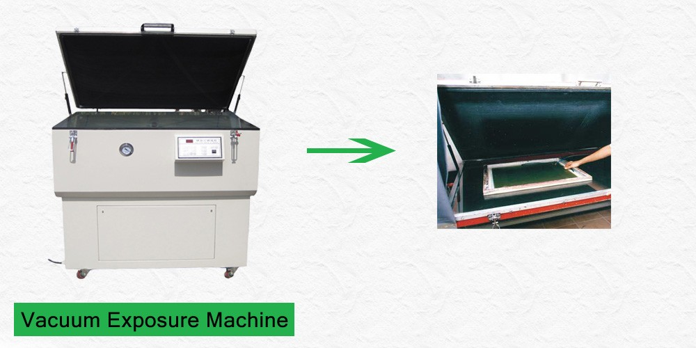 Automatic Screen Printing Vacuum Exposure Machine