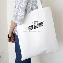 2017 Trendy Korean style cotton canvas tote bag
