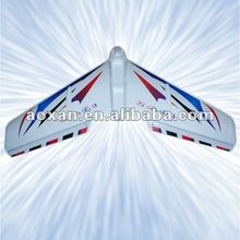 flying wing plane with EPS material