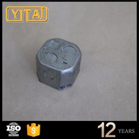 4 Inch Flat Square Electrical Steel Junction Box Cover