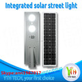 40 watts integrated solar led street lights with led light bulbs 1600lm 6500k