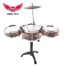 plastic musical instrument entertainment toy jazz children drum set with low price