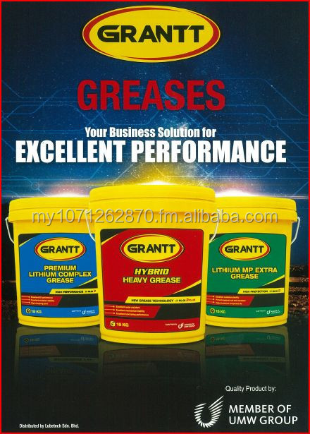 Industrial Lubricants - Grantt Hybrid Heavy Grease