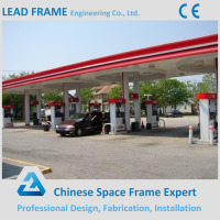Prefab Steel Structure Gas Station Used Canopy for Sale
