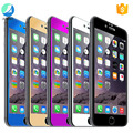 Free sample full coverage premium color tempered glass screen protector For iPhone 6