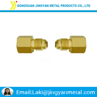 brass hex head union screw