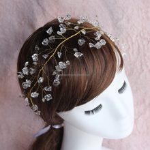 Bridal Wedding Crystal Headband -Women and Girls Hair Accessory for Special Occasions