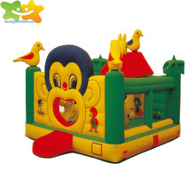 Monkey Eden PVC kids inflatable bouncers for sale