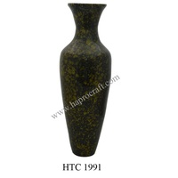 Coiled Bamboo vase for home decor (HTC 1991)
