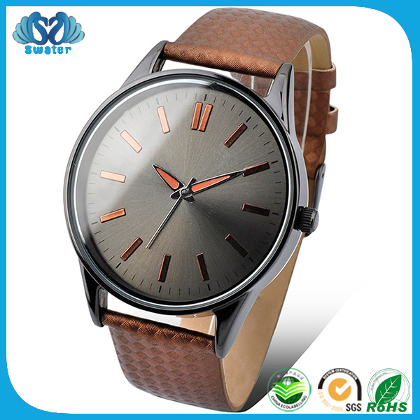 New Innovative Products Leather Luxury Watches Men