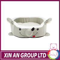 wholesale low MOQ pet bed in animal design