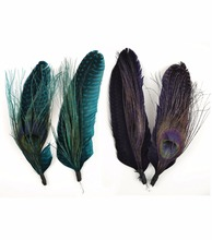 dyed feather picks for party hats
