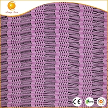 93% Nylon 7% Spandex Wheat Mesh lycra material in knitted fabric