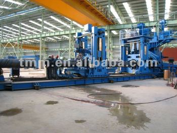 Dia. 508~3048mm Spiral Welded Pipe Mill