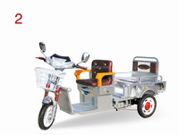 48V electric passenger use tricycle for 2 passengers electric tricar