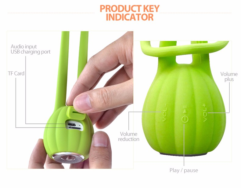 2016 consumer electronic Super loud Bluetooth Shower Mini Speaker