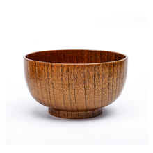 Wooden and Bamboo Material Natural Color Salad Bowl With Good Quality