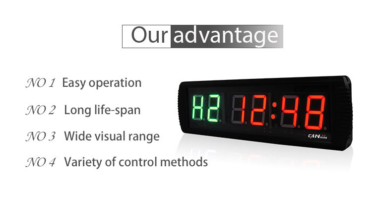 [GANXIN]3 Inch 6 Digit Multifunctional Gym Training boxing timer led