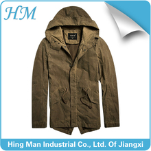Men's washed fall & winter outdoor md-long urban style jacket