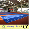 New PP suspended interlocking sports flooring for outdoor basketball court