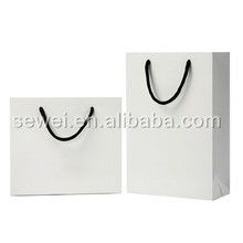 hot sell luxury Customized paper shopping bags for dress