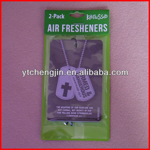 Rose smell car freshener/rose scented air freshener