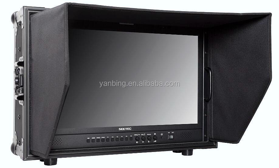 Seetec 21.5 inch professional broadcasting FHD 1080P 4K director SDI monitor with 3G/HD/SD-SDI output