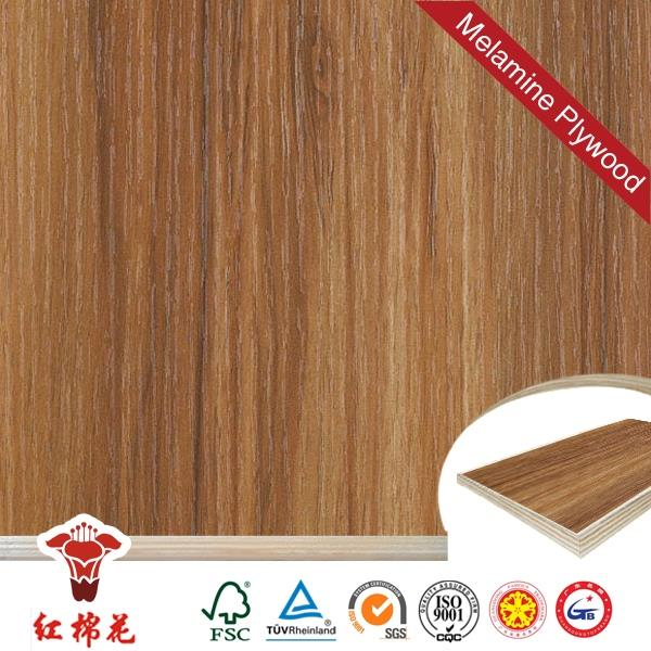 humid resistant silver brown straight textured melamine laminated plywood