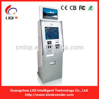 touch screen vending machine kiosk made in china,mobile top up kiosks for charging payment