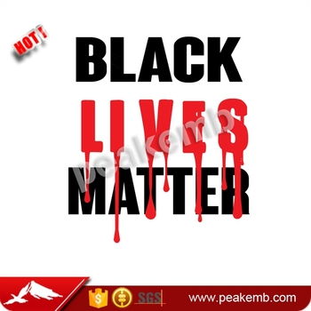 Wholesale T Shirt Screen Printing Black Lives Matter Heat