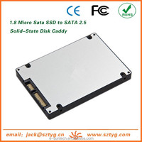 Micro SATA SSD To 2.5inch HDD Case Adapter 1.8inch To 2.5inch HDD Converter Enclosure Plastic SSD Case Best Selling Products