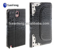 2014 fashion mobile rhinestone phone case for samsung galaxy note 3