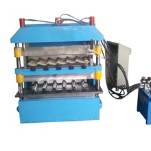 Wholesale job matel roofing double layer roll forming machine high quality with SGS certificate