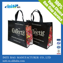 INITI Polyester Cotton pp Laminated Large Printed shopping Bag