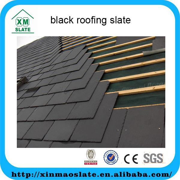 [factory direct] hot sale wholesale black roofing slate WB-4025RG2A