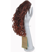 Rebecca Ombre Beautiful Curly Weave Human Hair Ponytail For Sale
