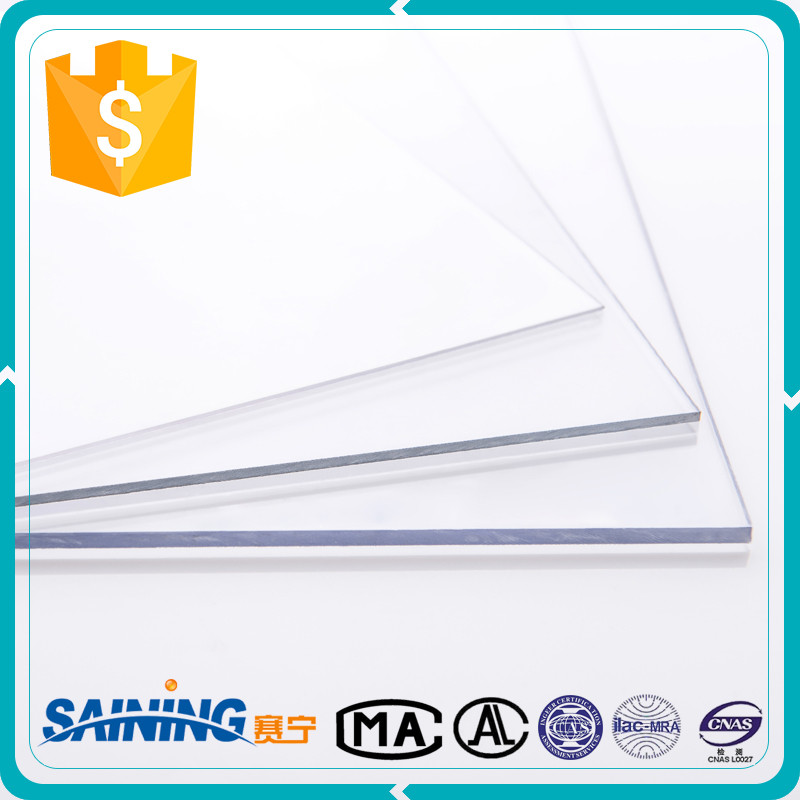 Anti Scratch Transparent Flat Polycarbonate Solid Sheet
